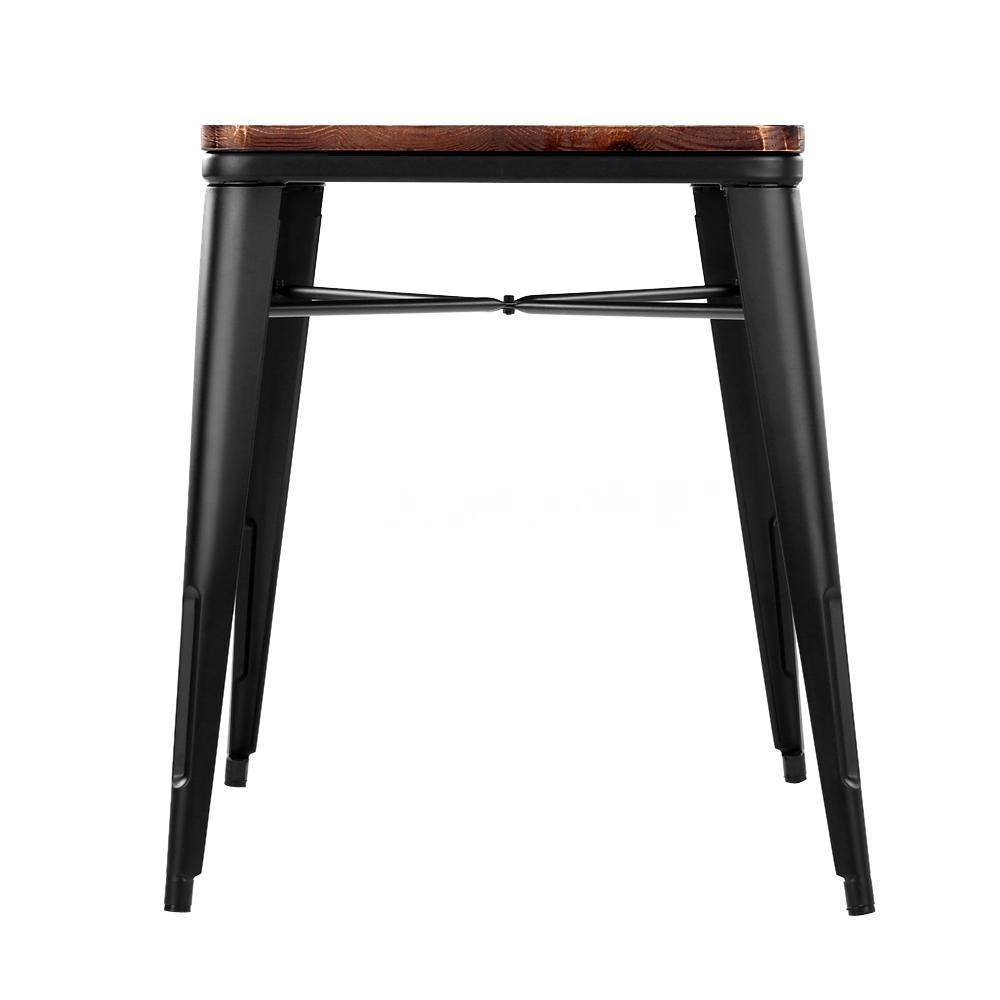 Design esstisch tisch esszimmer massiv stahl for Esstisch tisch industriedesign