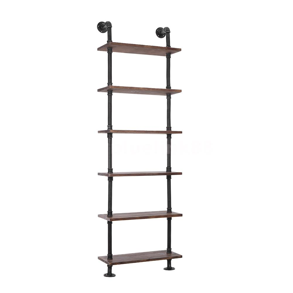 standing wall shelves diy ladder bookcase storage floating. Black Bedroom Furniture Sets. Home Design Ideas