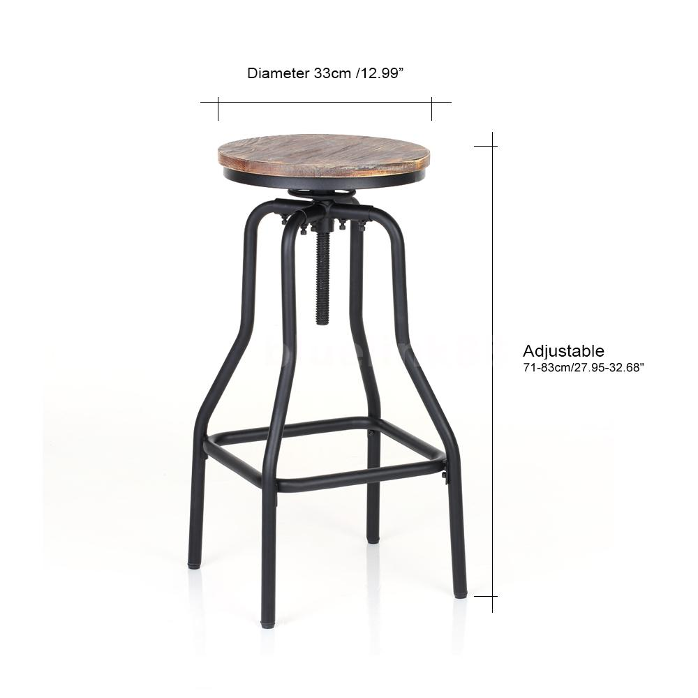 h henverstellbar sessel barhocker k chen esszimmer stuhl massivholz hocker y3b0 ebay. Black Bedroom Furniture Sets. Home Design Ideas