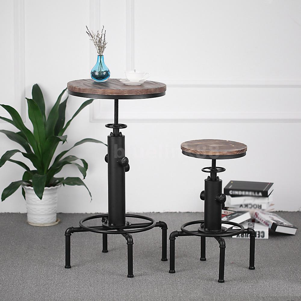 stehtisch wetterfest bistrotisch h henverstellbar tischplatte klappbar rund o3c3 ebay. Black Bedroom Furniture Sets. Home Design Ideas