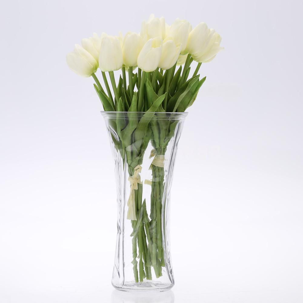20x Artificial Tulip Flowers Single Long Stem Bouquet Real Touch Home Decor T7P5  eBay