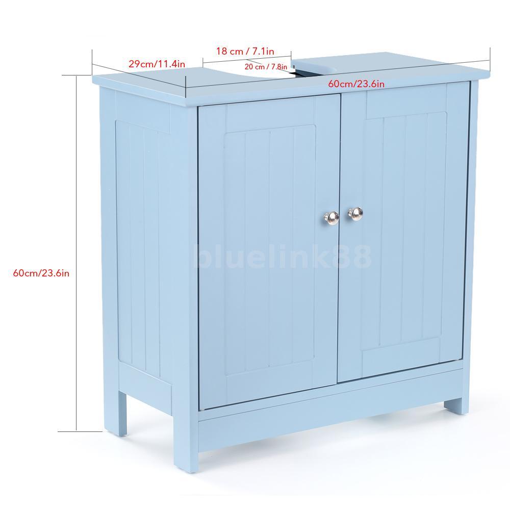 Pedestal Sink Surround Storage Cabinet Bathroom Vanity