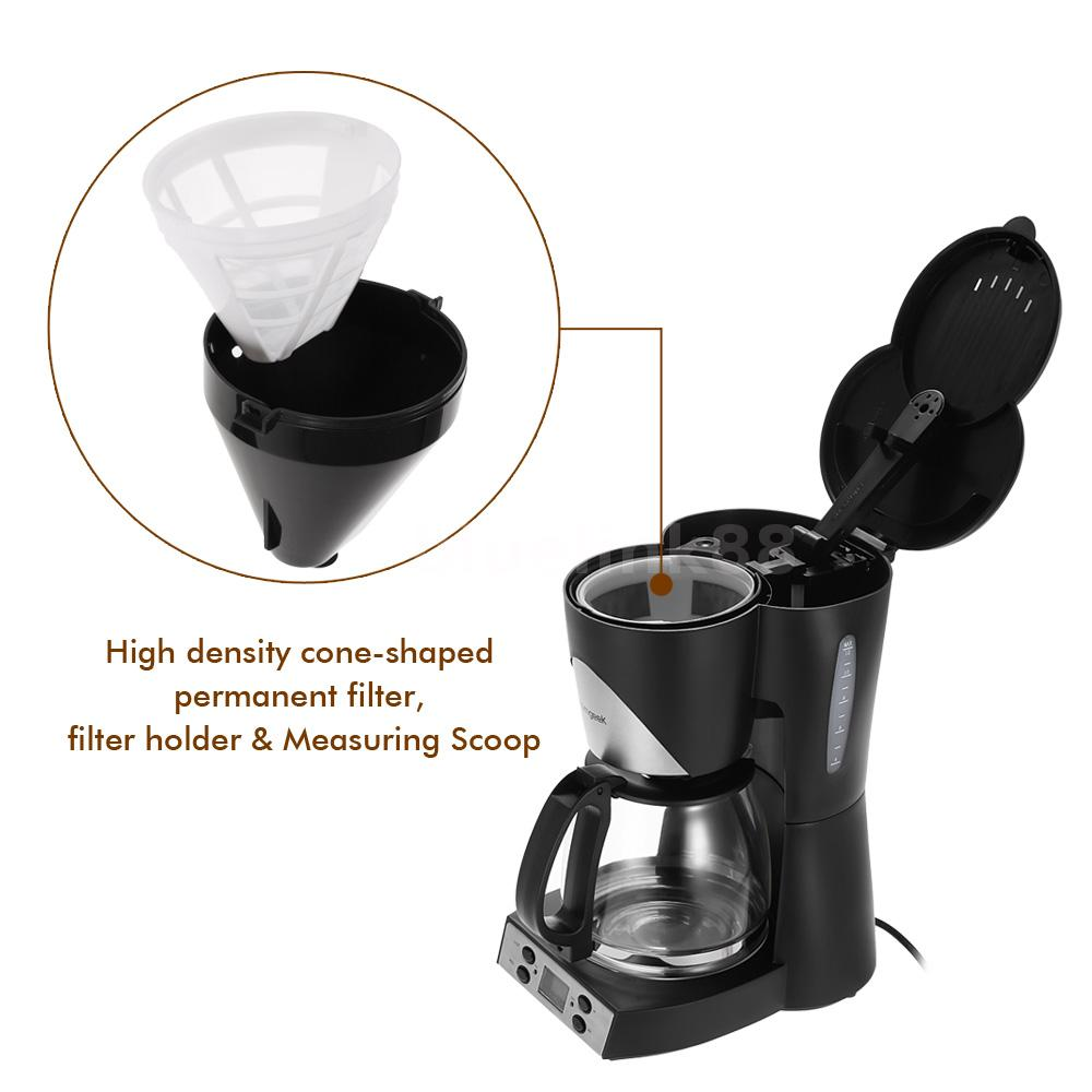Automatic Coffee Maker For Office : Automatic Coffee Warmer 1.5L Programmable 12Cup Coffee Maker Machine Office W6B9 eBay