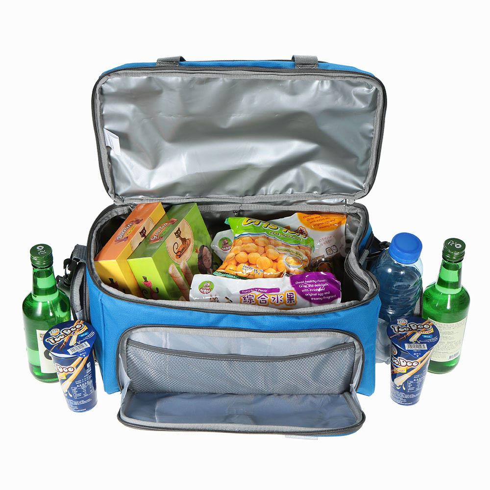 Lunch Bags & On-The-Go. This selection of lunch bags and other travel accessories is perfect for taking your favorite meals and drinks to go. Whether packing a lunch to work or taking some snacks on a long trip, these items have what you need to keep hunger away.